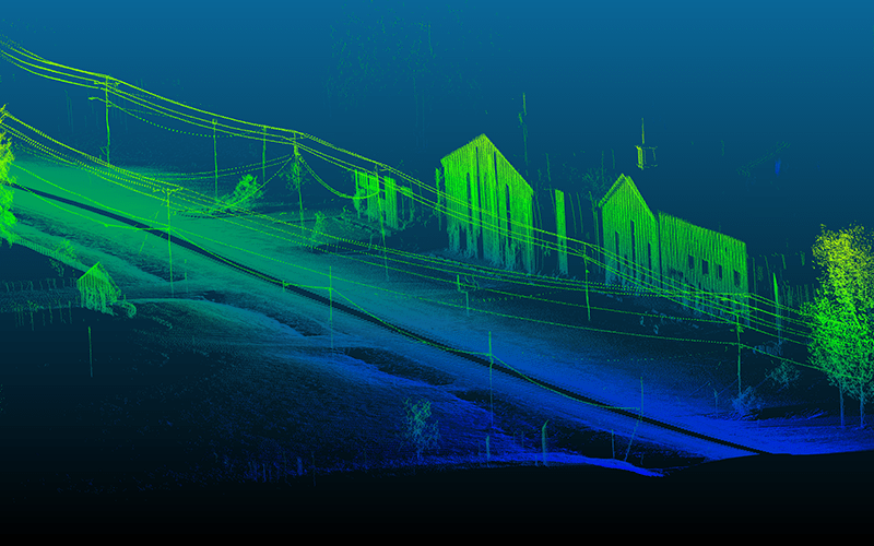 """LIDAR, which stands for Light Detection and Ranging, is """"a remote sensing method that uses light in the form of a pulsed laser to measure ranges to the Earth,"""" according to the National Oceanic and Atmospheric Administration. (Photo courtesy of Quanergy Systems, Inc.)"""