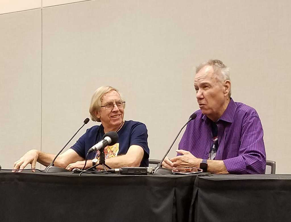 Comic book legends Roy Thomas and Gerry Conway at Phoenix Fan Fusion