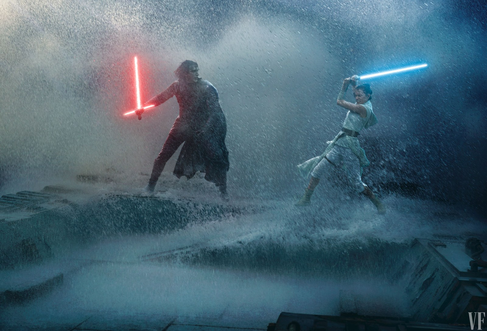Vanity Fair exposes The Rise of Skywalker characters, details