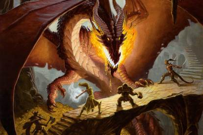 Getting started with Dungeons & Dragons