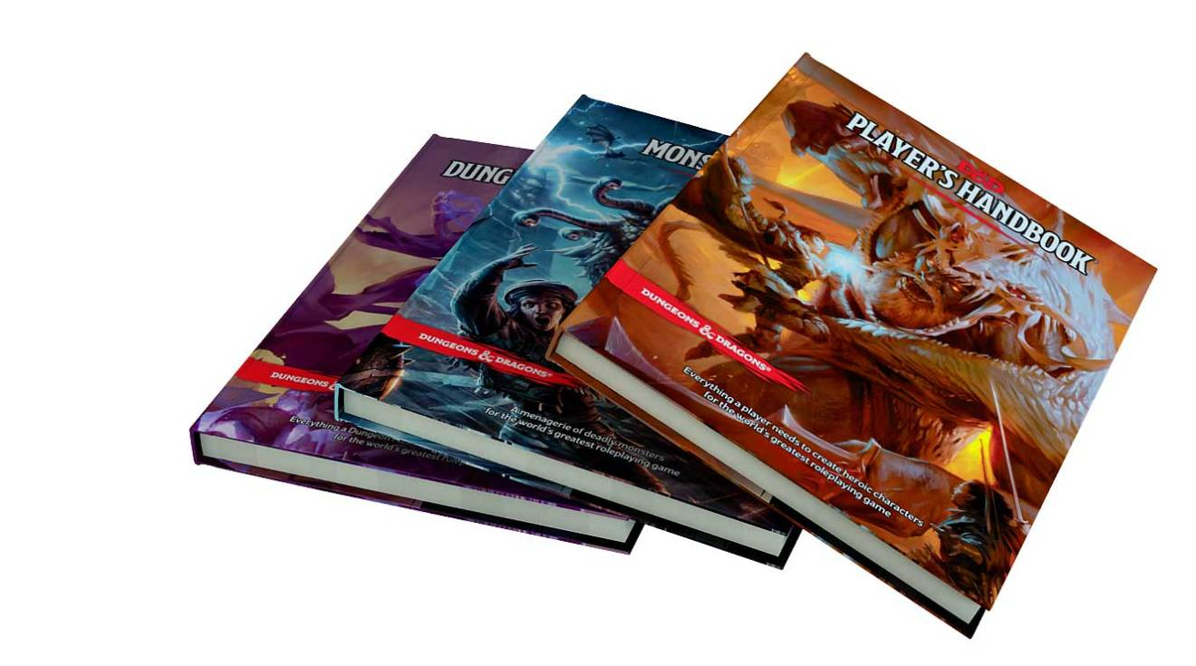 D&D 5th Edition Core Rulebooks