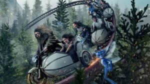 Fans wait 10 hours for Universal Studios' new coaster: Hagrid's Magical Creatures Motorbike Adventure