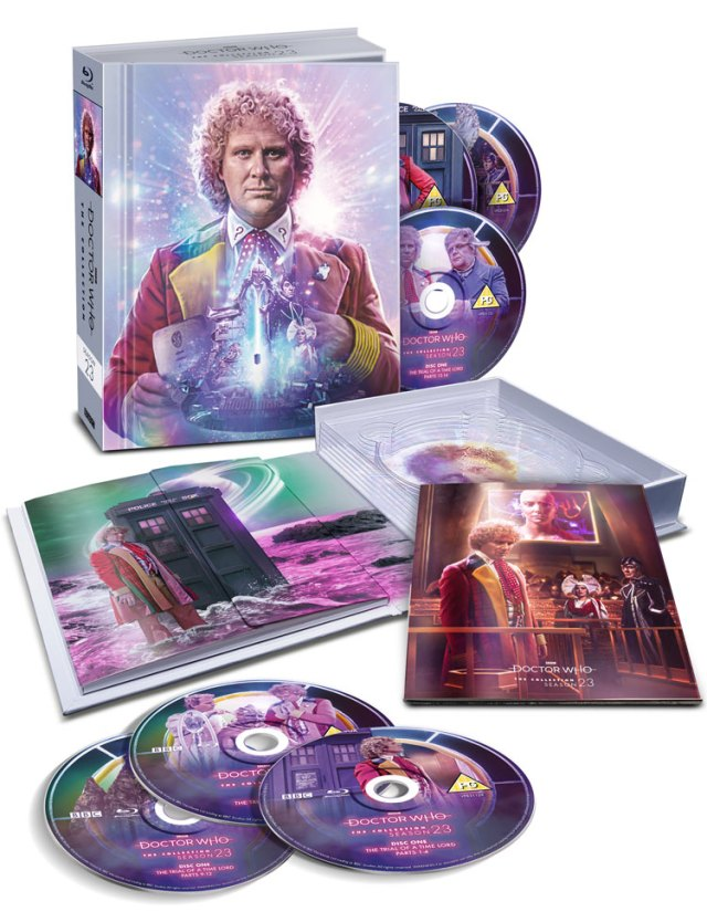 Doctor Who Season 23 Blu-ray The Trial of a Time Lord