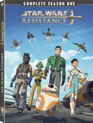 Star Wars Resistance DVD