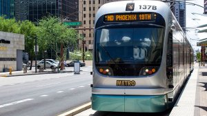 Three extensions of the Valley Metro light rail system will move forward after voters rejected Proposition 105, which would have halted the expansion. (Photo by Jordan Evans/Cronkite News)