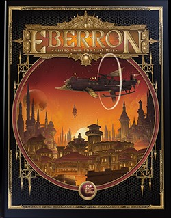 Eberron: Rising From the Last War alternate sourcebook cover art