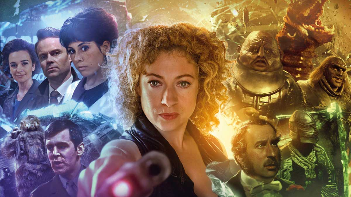River Song dances on the outskirts of Doctor Who history