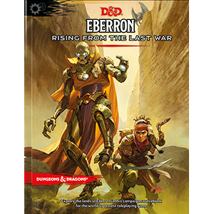 Eberron: Rising From the Last War standard sourcebook cover art