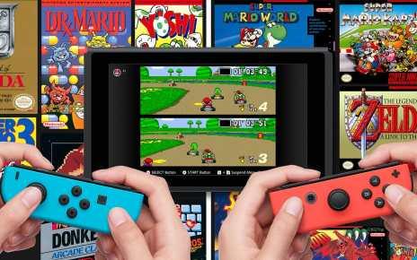 Super NES Nintendo Switch