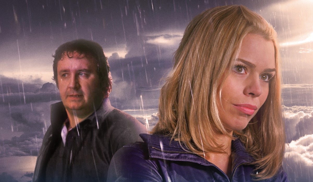 Clive Finch and Rose Tyler
