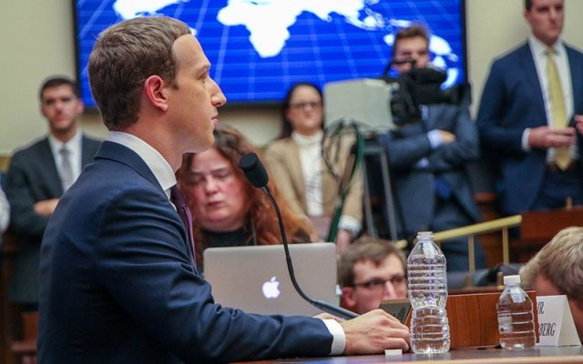 Facebook CEO Mark Zuckerberg faced a congressional hearing over the company's practices Wednesday, one day after Arizona announced it had joined 46 other states investigating the social media giant for possible antitrust violations, among other things. (Photo by Amy-Xiaoshi DePaola/Cronkite News)