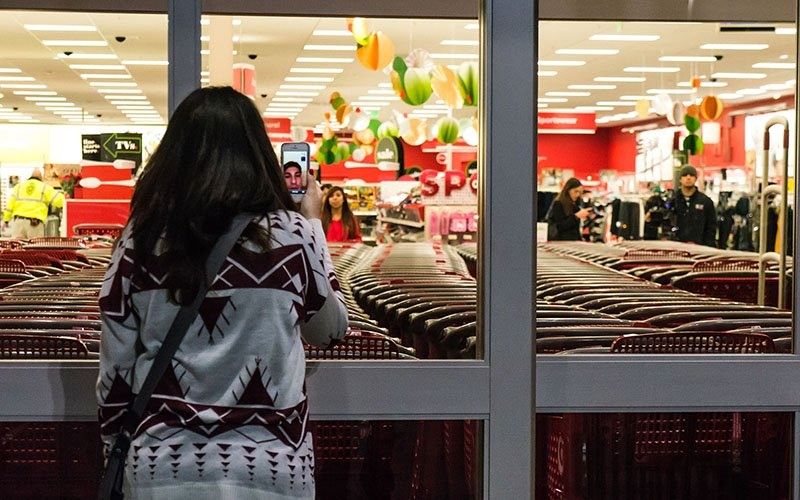 While more sales are expected on Super Saturday – the last Saturday before Christmas – analysts say they still expect more shoppers on Black Friday and any other day of the year. (Photo by Powhusku/Creative Commons)