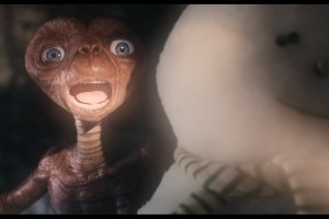 After 37 years, E.T. comes back to visit his friend, Elliott, for the holidays. During his stay, E.T. learns that Elliott now has a family of his own and that technology has completely changed on Earth since his last visit. Learn more at xfinity.com/ET