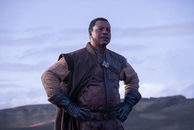 Caption : Greef (Carl Weathers) in Lucasfilm's THE MANDALORIAN. Byline : Melinda Sue Gordon Copyright : © 2018 Lucasfilm Ltd. & ™. All Rights Reserved.