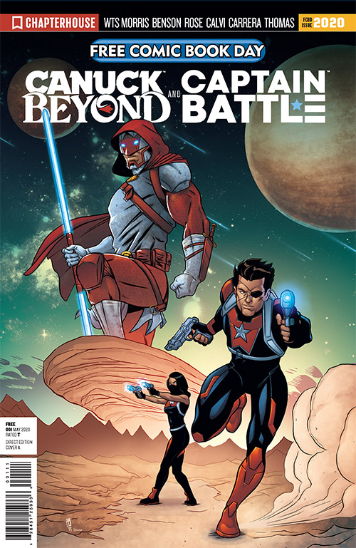 CAPTAIN CANUCK BEYOND AND CAPTAIN BATTLE