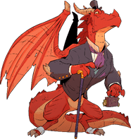 Dungeon Mayhem: Monster Madness Lord Cinderpuff, Red Dragon