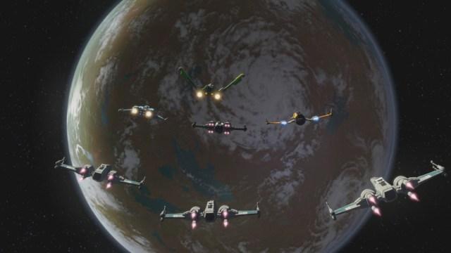 Star Wars Rebuilding the Resistance