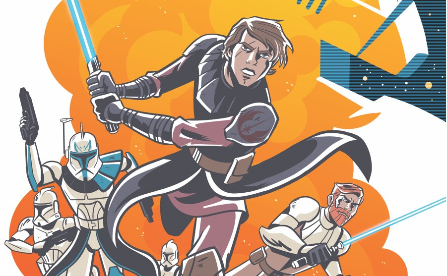 Weekly Star Wars Adventures: The Clone Wars – Battle Tales comics start April 2020