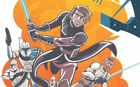 STAR WARS ADVENTURES: THE CLONE WARS Break Out Weekly in April 2020