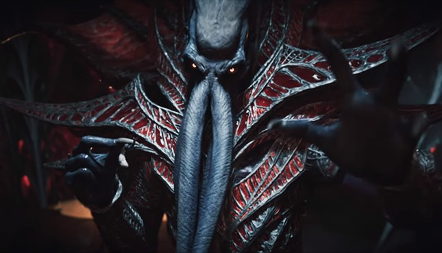 Dragon riders fight Mind Flayer spaceship in Baldur's Gate III cinematic trailer