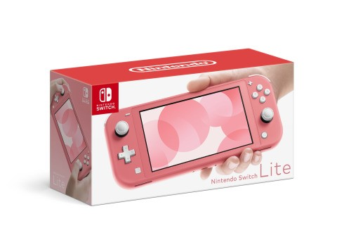 Vibrant new Coral Nintendo Switch Lite System launches April 3, 2020
