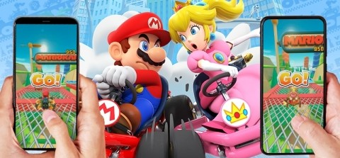 Mario Kart Tour real-time multiplayer
