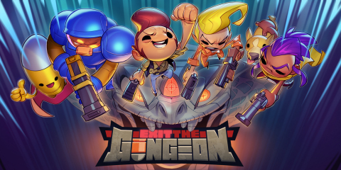 Exit the Gungeon launches on Nintendo Switch as a timed console exclusive later today! (Photo: Business Wire)