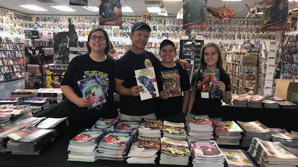 Samurai Comics Banks family