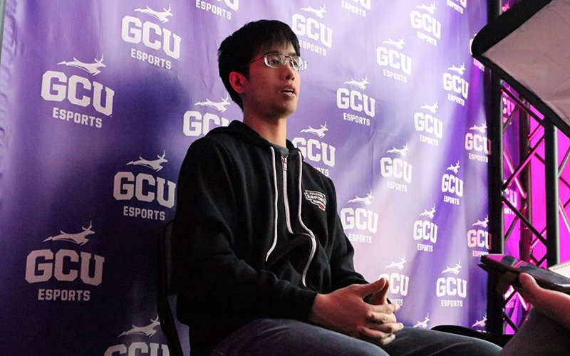 Since joining Grand Canyon University in 2018, Albert Lee has created a premier esports program that contains close to 1,000 members. University support is allowing Lee to break barriers in the collegiate esports realm. (Photo by Reno Del Toro/Cronkite News)