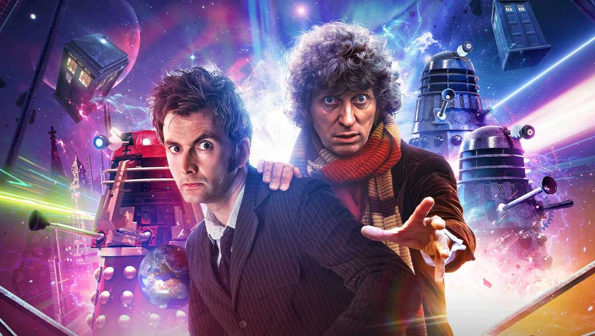 Tom Baker and David Tennant team up against the Daleks for Doctor Who: Out of Time