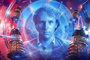 Peter Davison reprises the role he first took on in 1982 to star as the Fifth Doctor in Doctor Who: Shadow of the Daleks (parts 1 and 2)