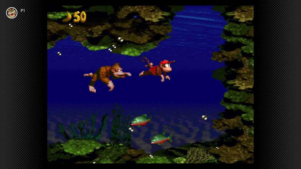 Switch NSO Donkey Kong Country