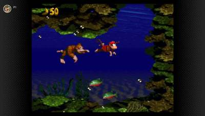Switch NSO Donkey Kong Country