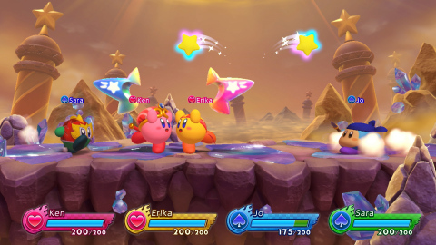 Kirby Fighters 2 free demo on Nintendo Switch