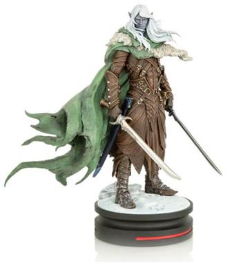 Dungeons & Dragons Drizzt Do'Urden Modern Icons Statue