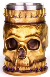 Dungeons & Dragons Skull Tankard