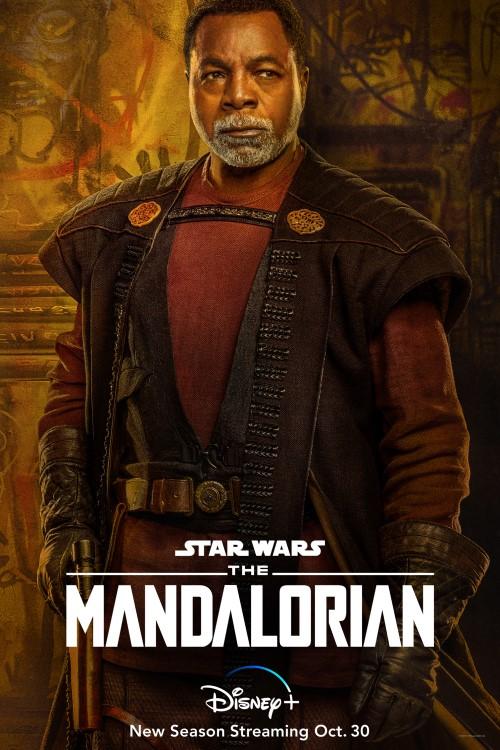 The Mandalorian Season 2 character artwork