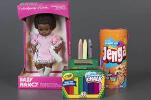 2020 National Toy Hall of Fame Baby Nancy Sidewalk Chalk Jenga