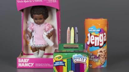 2020 National Toy Hall of Fame Baby Nancy Sidewalk Chalk Jenga