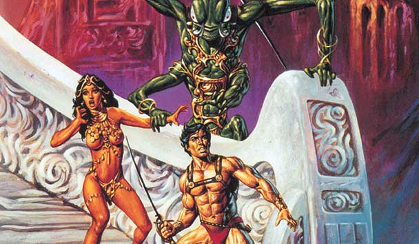 Joe Jusko John Carter of Mars Moon Under Mars