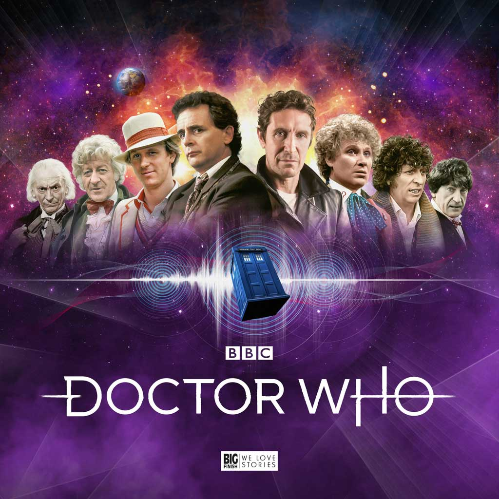 2022 full-cast Doctor Who audio drama box sets