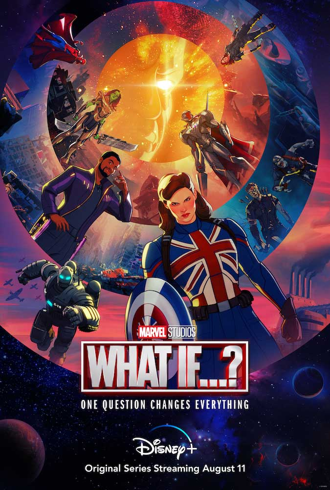 """Marvel Studios' """"What If…?"""" poster"""