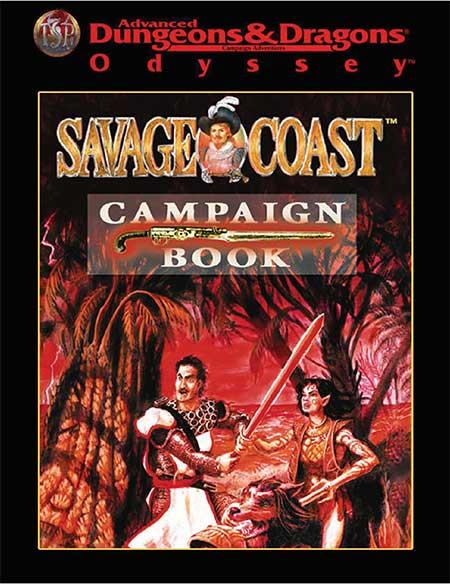 AD&D Odyssey Savage Coast Campaign Book