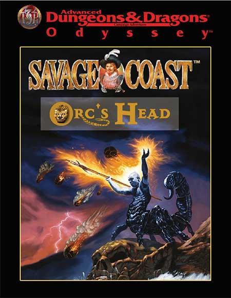 AD&D Odyssey Savage Coast Orc's Head