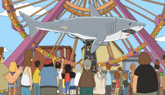 """The Town of Oban, seems a little like the town of """"Bob's Burger's""""."""