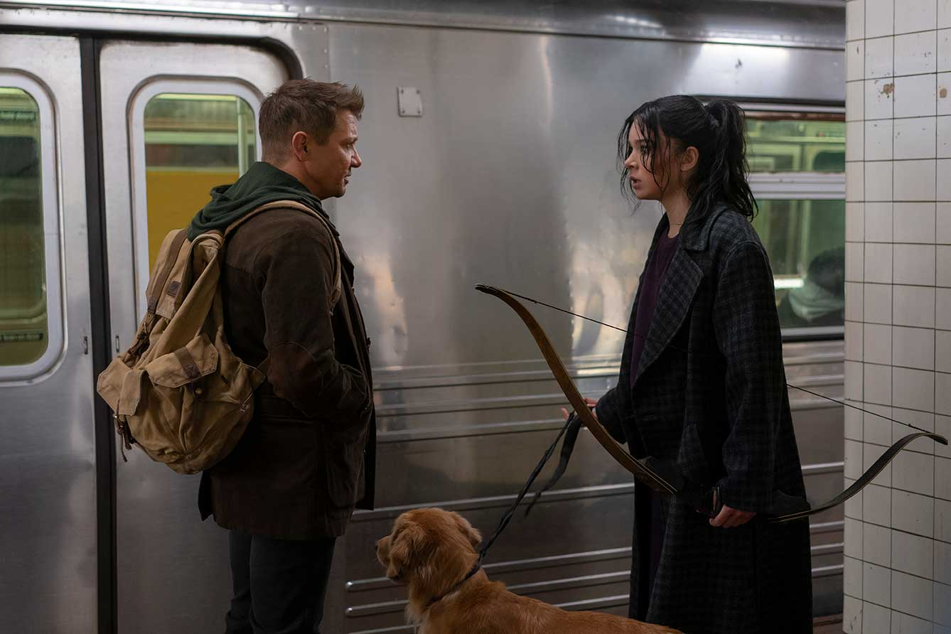 Disney+ debuts official trailer and teaser poster for Marvel Studios' Hawkeye series