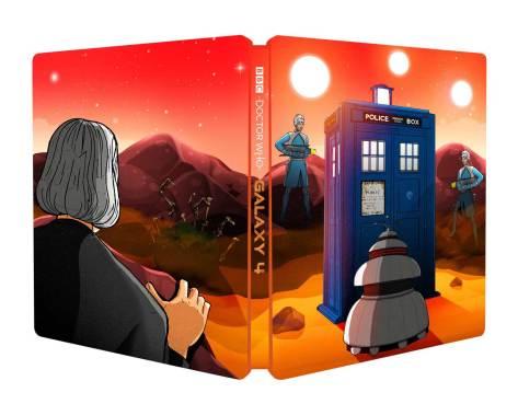 doctor who galaxy 4 steelbook
