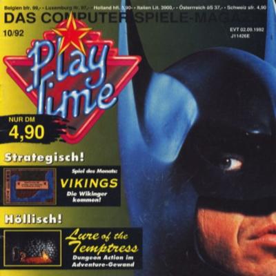 Folge 118: Durchgeblättert: Play Time 10/92 (mit Christian Schmidt)