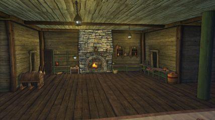 Rift Tavern kitchen