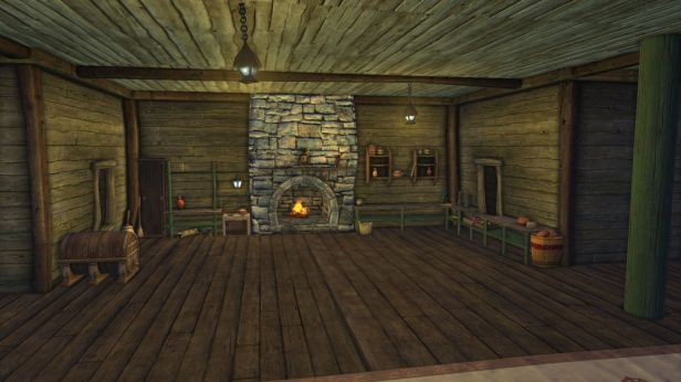 Rift Tavern kitchen